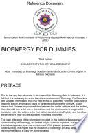 Bioenergy For Dummies