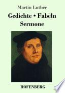 Gedichte Fabeln Sermone
