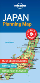 Lonely Planet Japan Planning Map