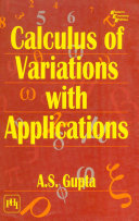 CALCULUS OF VARIATIONS WITH APPLICATIONS Book
