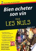 illustration Bien acheter son vin Pour les Nuls