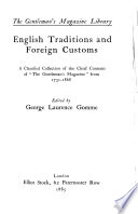 English Traditions and Foreign Customs