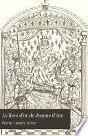 Le livre d or de Jeanne d arc