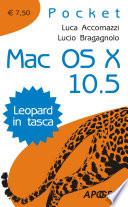 Mac OS X 10 5  Leopard in tasca