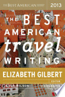 Book The Best American Travel Writing 2013