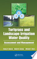 Turfgrass and Landscape Irrigation Water Quality