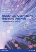 quantitative business analysis Available in: hardcover this text is appropriate for courses entitled management science', quantitative business analysis', quantitative.