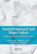 Rainfall Induced Soil Slope Failure