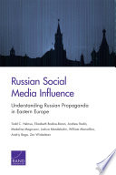 Russian Social Media Influence
