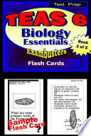 TEAS 6 Test Prep Biology Review  Exambusters Flash Cards  Workbook 3 of 5