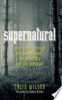 The Supernatural Pdf/ePub eBook