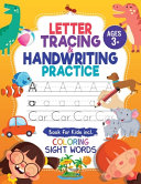 Letter Tracing And Handwriting Practice Book