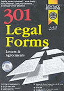 301 Legal Forms  Letters   Agreements