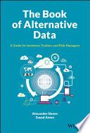 The Book of Alternative Data Book PDF