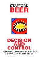Decision And Control