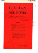 Italiani nel mondo rivista quindicinale