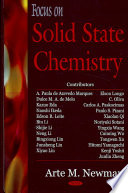 Focus On Solid State Chemistry book