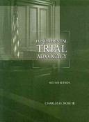 Fundamental Trial Advocacy