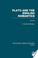 Plato and the English Romantics  RLE  Plato