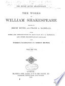 The Works of William Shakespeare  Hamlet  King Henry VIII  Pericles  Poems