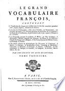 Le grand vocabulaire françois