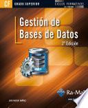 Gesti N De Bases De Datos 2 Edici N Grado Superior