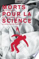 illustration du livre Morts pour la science