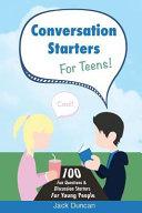 Conversation Starters for Teens