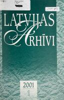 Latvijas arhīvi