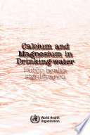Calcium And Magnesium In Drinking Water