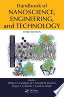 Handbook Of Nanoscience  Engineering  And Technology  Third Edition : the bottom,