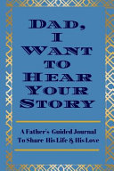 Book Dad  I Want to Hear Your Story