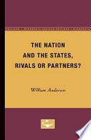 The Nation And The States Rivals Or Partners