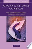 Organizational Control