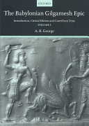 The Babylonian Gilgamesh Epic