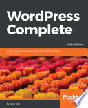 WordPress Complete   Sixth Edition