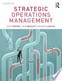Strategic Operations Management