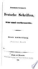 Deutsche schriften, neue und verbesserte: Zur geschichte der griechischen und römischen literatur. 1847
