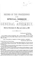 Proceedings Of The General Assembly Of The Knights Of Labor Of America