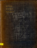 Subject Catalogue of the Library of the Royal Empire Society  Formerly Royal Colonial Institute  The Commonwealth of Australia  the Dominion of New Zealand  The South Pacific  general voyages and travels  and Arctic and Antarctic regions