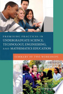 Promising Practices in Undergraduate Science  Technology  Engineering  and Mathematics Education