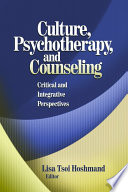 Culture  Psychotherapy  and Counseling