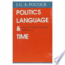 Politics  Language  and Time