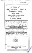 A History of the Episcopal Church in Narragansett, Rhode Island