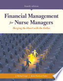 Financial Management for Nurse Managers