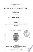 Beeton's Historical romances, daring deeds, and animal stories, ed. by S.O. Beeton