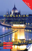 Colloquial Hungarian Carefully Developed By An Experienced