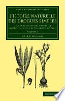 Histoire naturelle des drogues simples