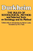 Rules of Sociological Method