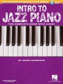 Intro to Jazz Piano  Hal Leonard Keyboard Style Series